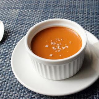 Salted Caramel Custard – My Newest Favorite Dessert Ever.