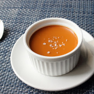 Salted Caramel Custard – My Newest Favorite Dessert Ever.