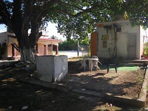 Photo: Kontrastprogramm, unser Campingplatz in Cancún