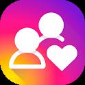 Likes + followers on Instagram icon