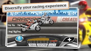 Screenshot of Drag Racing: Bike Edition