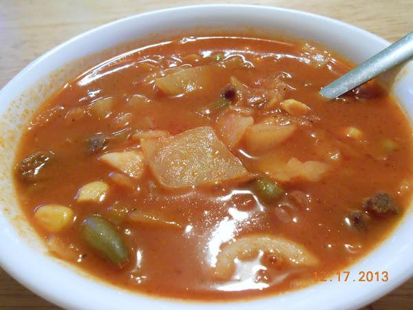 Gramma's Vegetable Soup Recipe
