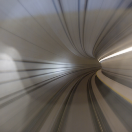 Tunnel by Nash O - Abstract Patterns ( lowlight, light, slowshutter, pattern, tunnel )