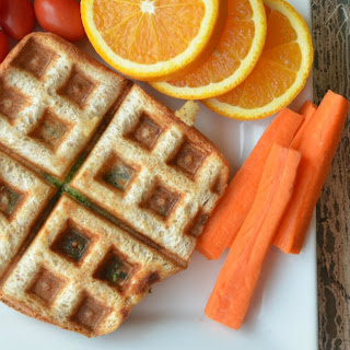 Healthy Grilled Cheese Wafflewich.