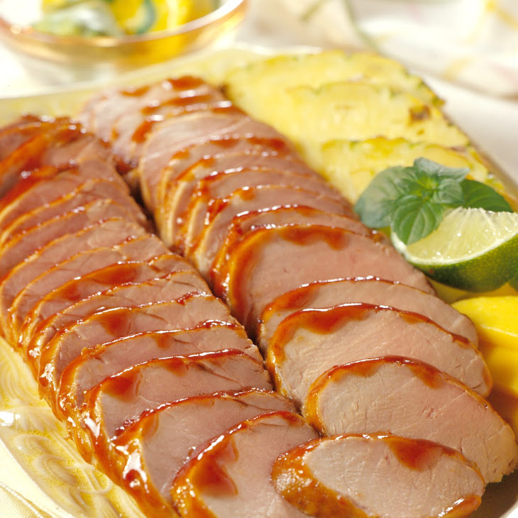 Pork Tenderloin Island Barbecue Recipe