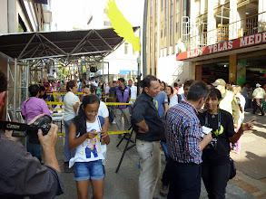 Photo: Entrevista con los medios