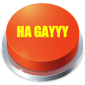 HA GAYYY Button