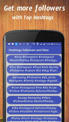 Hashtags for followers screenshot 2