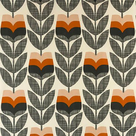 Rosebud av Orla Kiely - orange