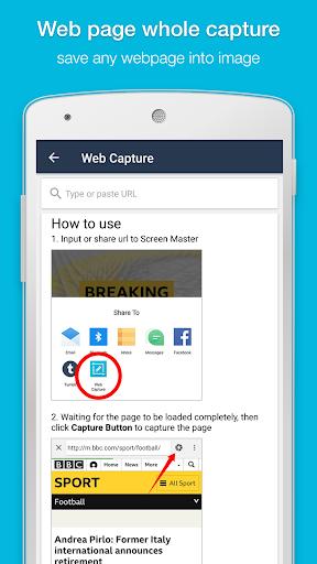 Screen Master: Screenshot & Longshot, Photo Markup 1.6.5.1 screenshots 2