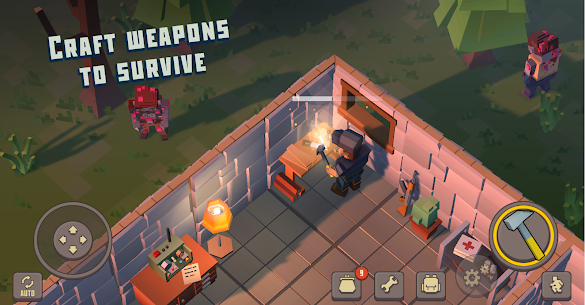 Cube Survival Story 1.0.3 Mod Apk [Unlimited Coins] 4