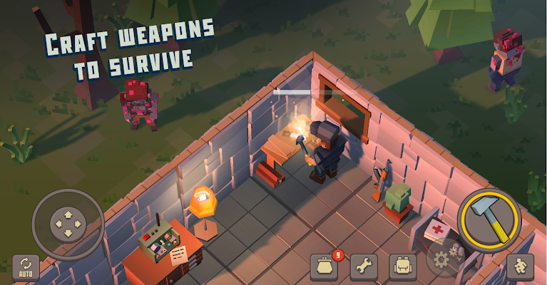 Cube Survival Story Screenshot Image