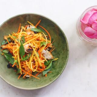 Green Mango Salad from the Chef at Park Hyatt Siem Reap (GF, Paleo, AIP).