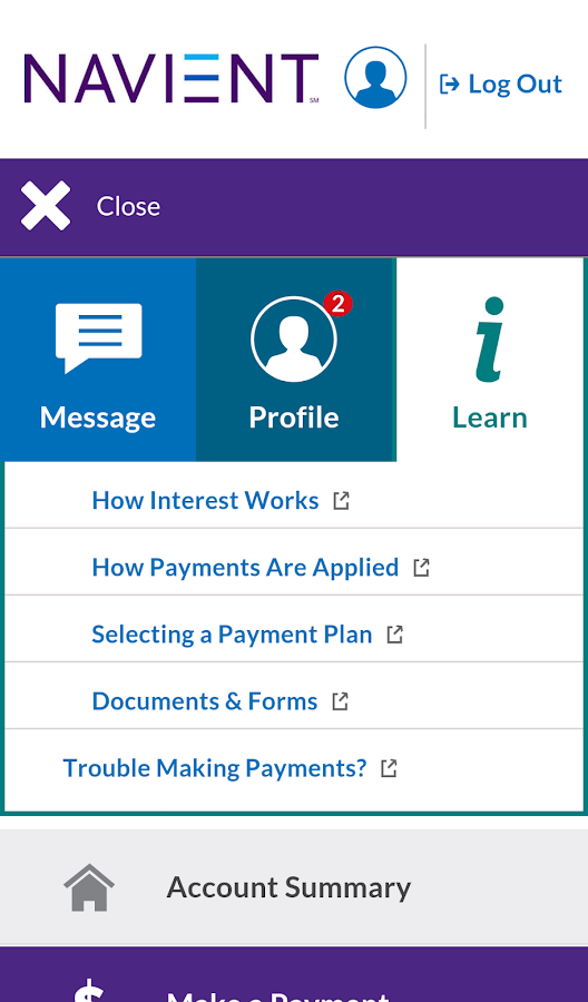 manage your student loans conveniently and securely with navient s ...