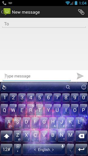 Theme Galaxy TouchPal Keyboard