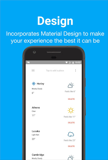 Forecast – Weather & Widgets v1.3.2 [Pro]
