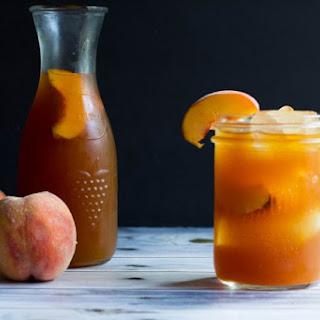 Refreshing Sweet Peach Tea.