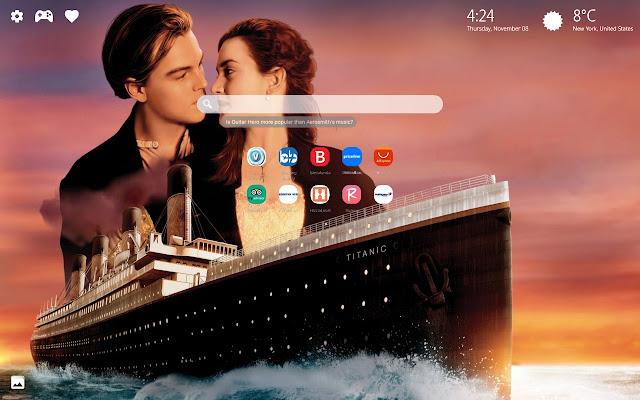 Titanic Movie Wallpaper New Tab Theme