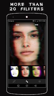Glitch Editor 📷 (Glitch Wallpapers & Glitch Text) Screenshot