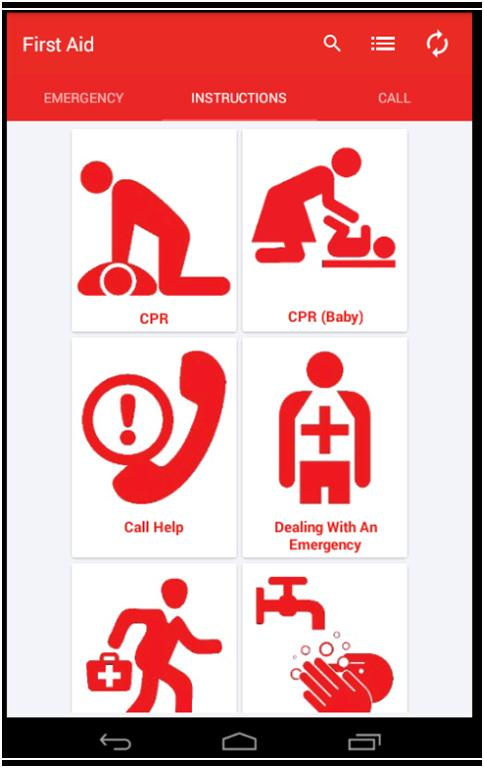 Indian Red Cross First Aid- screenshot