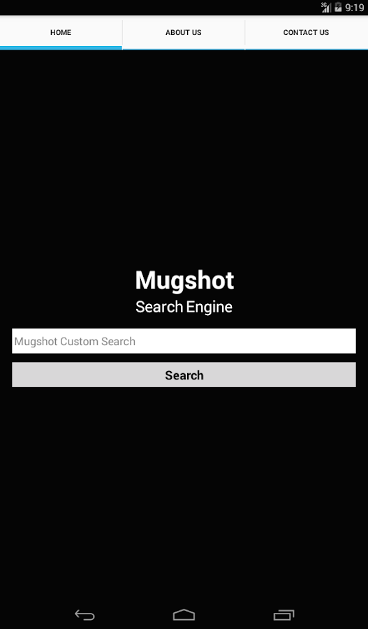 MugshotSearch- screenshot