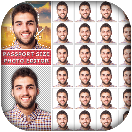 Passport Size Photo Editor