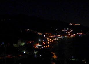 Photo: View towards Lettojani from Taormina - best night shot so far
