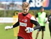 Doelman Nordin Jackers heeft vandaag zijn contract bij KRC Genk verlengd tot midden 2019