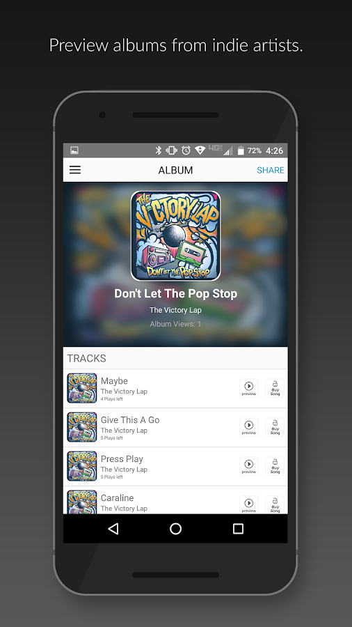 SongCast - Music Discovery- screenshot