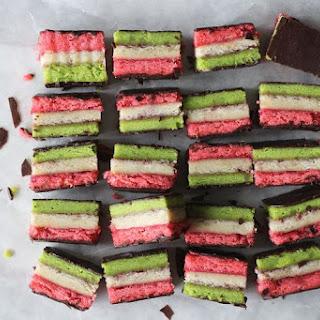Italian Rainbow Cookies.