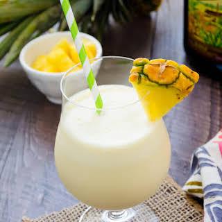 Fresh Pineapple Pina Colada.