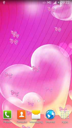 Cute Live Wallpapers For Girls Android App Screenshot