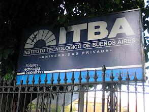 Photo: ITBA, Bruno's university
