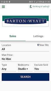 Barton Wyatt Property Search- screenshot thumbnail