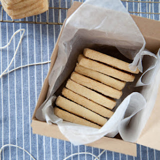 Classic Shortbread Cookies.
