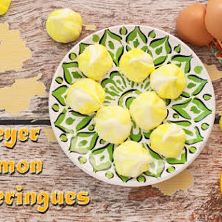 Meyer Lemon Meringues.