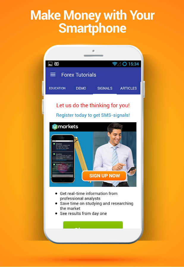 Forex app tutorial