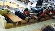 A screengrab of an alleged theft at a Spur restaurant in Cape Town.