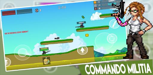 Pixel's Militya Shooter Game screenshot 2