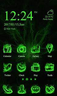 Rasta Weed theme-ZERO Launcher - náhled