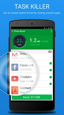 Speed Booster & Junk Cleaner 1.2.4 screenshot 750169