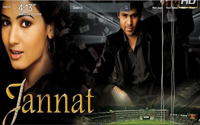 Jannat Movie Wallpapers Newtab Theme