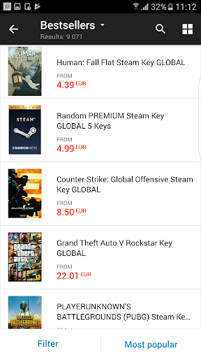 G2A - Game Stores Marketplace 1.10.3 screenshots 7