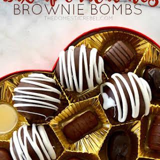 Box of Chocolates Brownie Bombs.