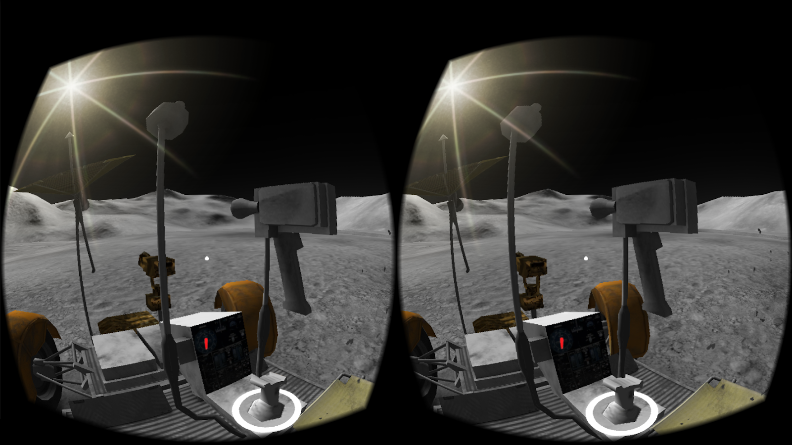 Apollo 15 Moon Landing VR – Screenshot