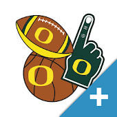 Oregon Ducks PLUS Selfie Stickers