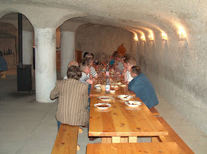 Photo: Na degustacji w Noszvaj - piwnice Thummerer