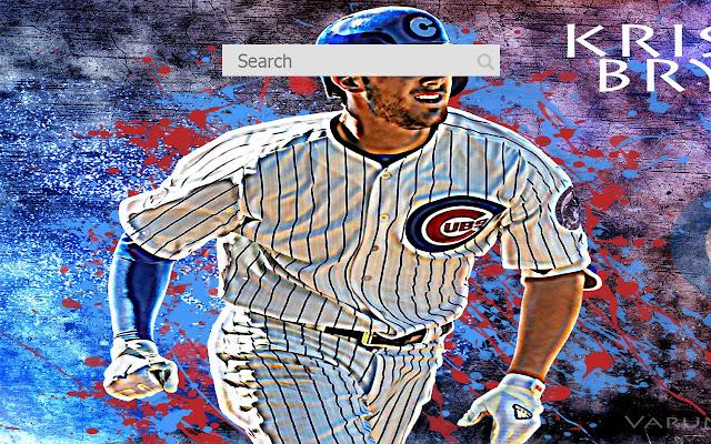 New tab wallpaper Kris Bryant