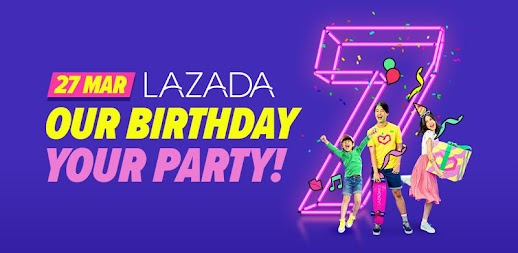 Lazada - Birthday Sale Party 27 Mar APK