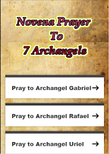 Prayer To Seven Archangels - náhled